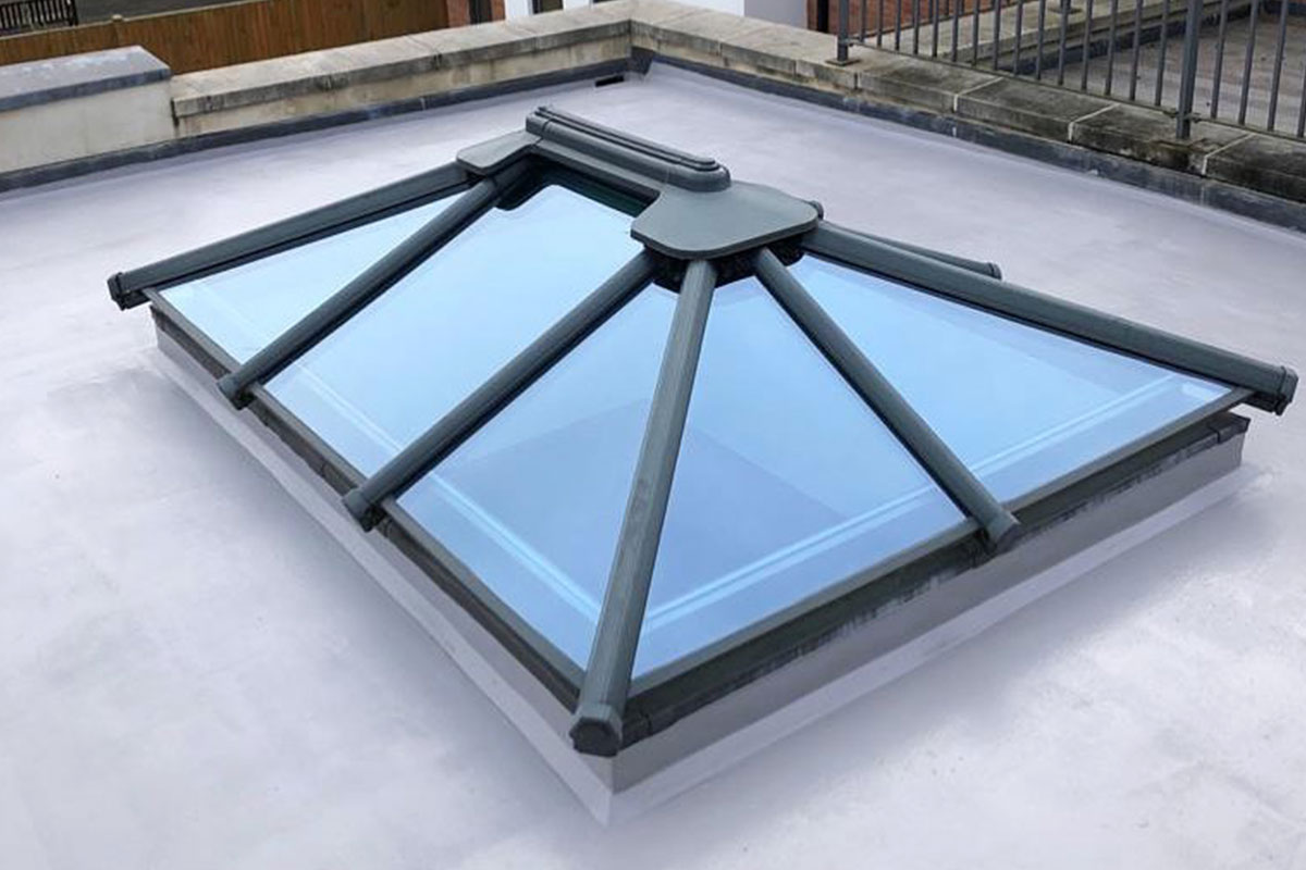 Flat Roof with Skylight London