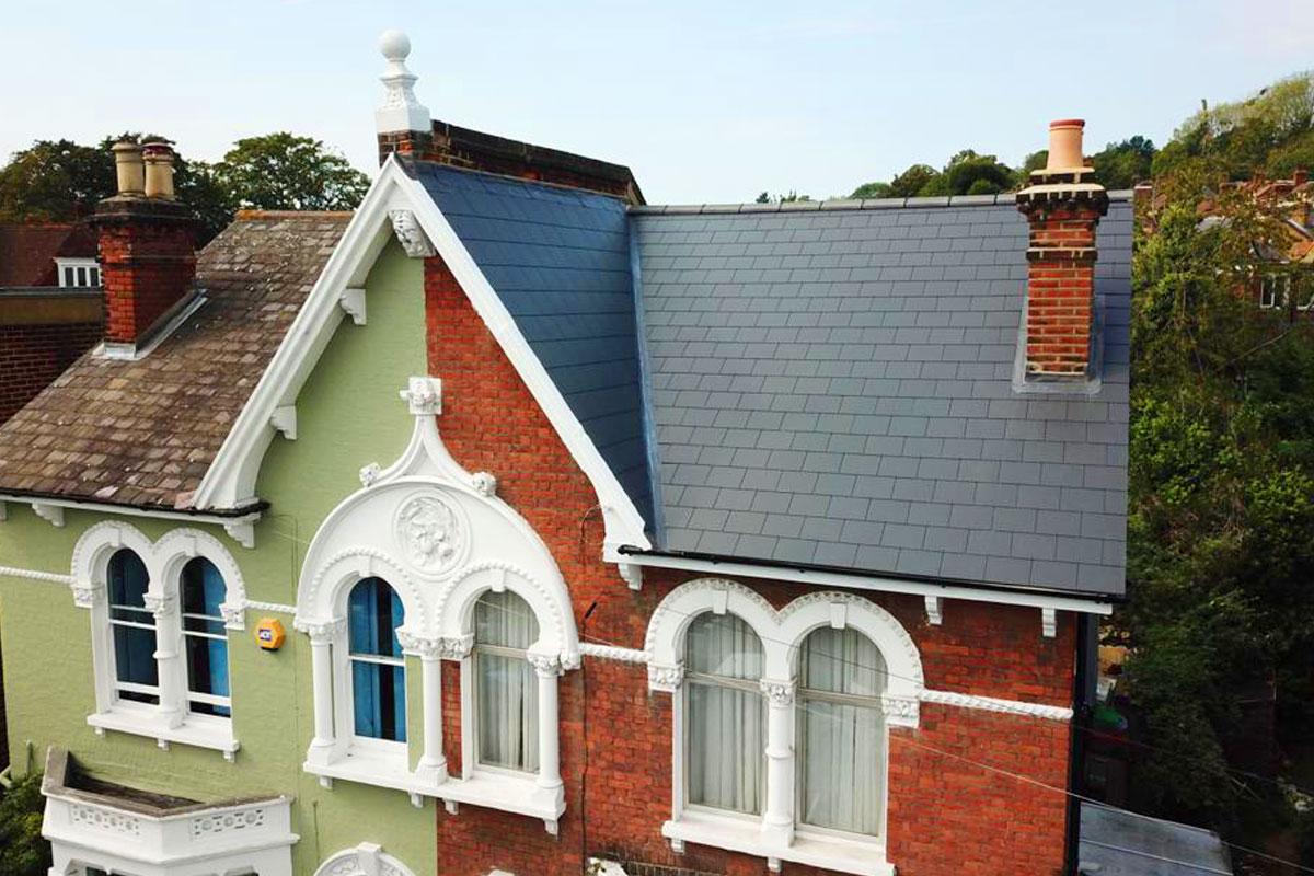 London Slate Roof