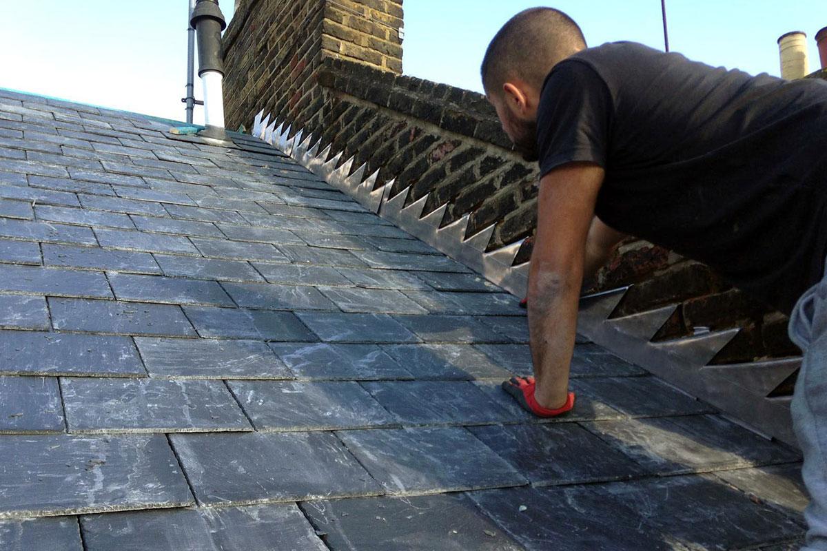 London Roofers - Lead Flashing