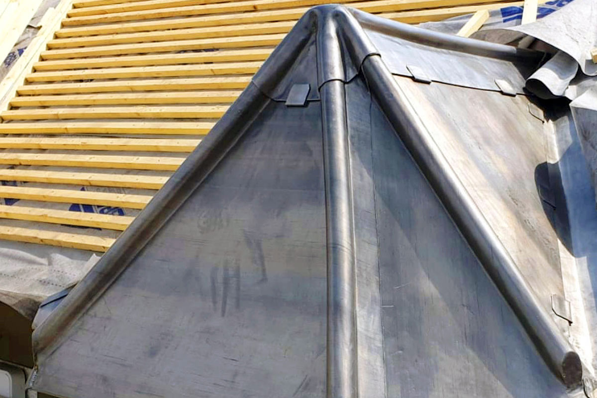 London Roofers - Lead Capping